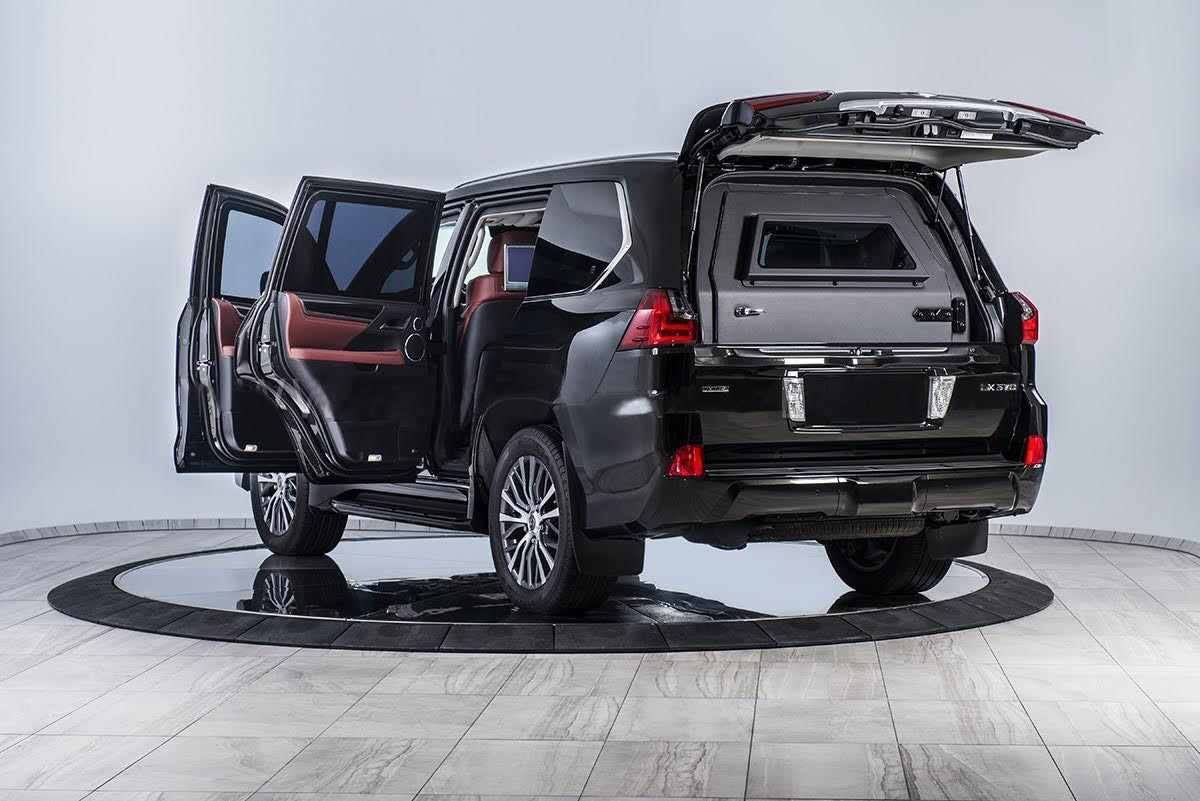 Armored Vehicles - Armored LEXUS LX 570