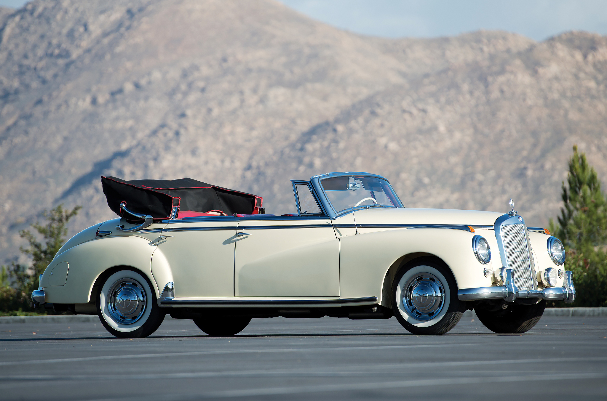 Nce custom convertibles automotive design engineering for Mercedes benz 300 convertible
